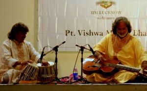 Pandit Vishwa Mohan Bhatt at IIM Lucknow
