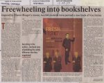'Freewheeling into bookshelves' - Financial Chronicles, 3rd March, 2011