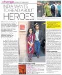 'India wants to read about HEROES' - MID-DAY, November 6, 2011